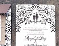 Matt & Ronni Wedding Stationery