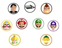 infographic Mario Bros