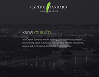 Capitol Standard - intro slider / cover page