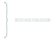 MULTI-PAGE PUBLICATION