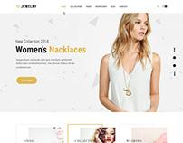 Jewellery shop WordPress theme