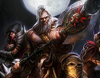 Diablo 3 - Reaper of Souls - art contest.