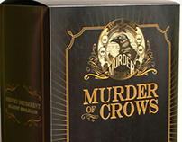 Packaging: Murder of Crows vigor bottle
