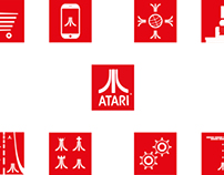 Pictograms about Atari