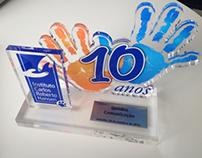 Troféu ICRH 10 anos - Instituto Carlos Hansen