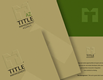 Corporate Folder and Direct Mail Piece