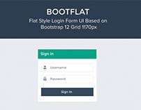 Bootflat Login Form