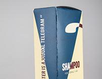 Shampoo packaging // DaDa Hair Salon