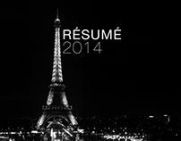 Résumé / Curriculum Vitae 2014