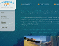 Website for Monterey Bay Commercial Real Estate