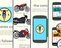 Moto Series Illustration/Concept Game App