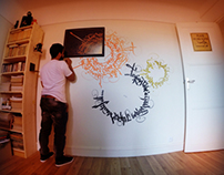 Calligraffiti time lapse