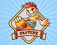 Skater Boy Vector Logo