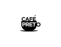Café Preto Branding Design