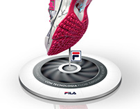 FILA ~ Display Tênis Windspeed