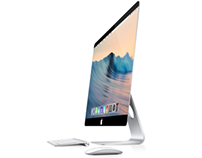 iMac 2015 with OSX 10.10 and Frameless Sceen