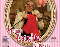 Nana's Naughty Knickers Poster