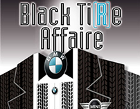 Black TiRe Affaire Invitation