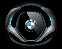 BMW i Steering Wheel Concept