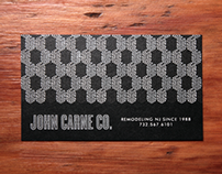 John Carne Co. - Business Cards