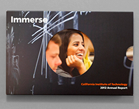 Caltech Annual Report and Microsite