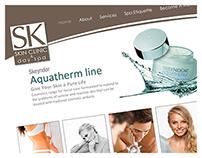 Sk Skin Clinic & Day Spa Website & Branding