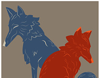 Fox and Coyote