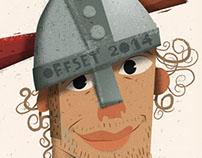 OFFSET. Portrait of an illustrator.