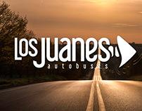 LOS JUANES autobuses (logo)
