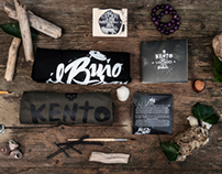 KENTO & The Voodoo Brothers - Radici - Brand Identity