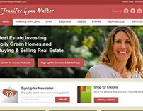 Jennifer Lynn Walker Website Design