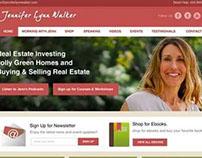 Jennifer Lynn Walker Website Design
