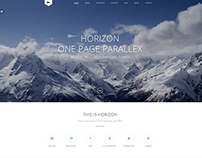 Horizon - One Page HTML5 Website
