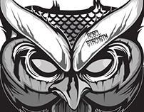 Owl Illustration. WIP