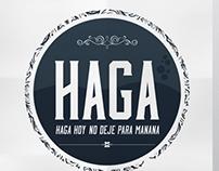 Logo Banda Haga - Projeto