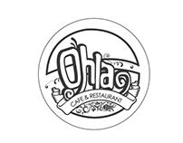 Ohla Restaurant & Cafe Branding