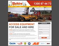 Uphire WordPress Website