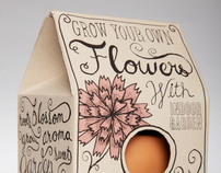 Grow Your Own Flowers Packaging