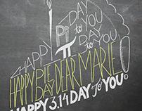 Pi Day Birthday