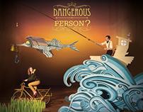 Dangerous Person ? Cd/ Vinyl cover + Livret