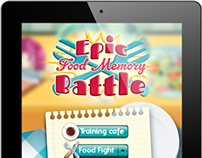 Epic Food Memory Battle Game