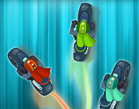 Dodge Race Pro Game