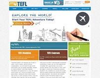 MyTEFL Web Redesign