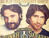 Retro Flyer Gronkh & Sarazar