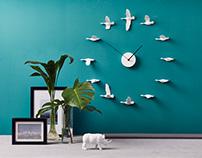 HAOSHI | Migrantbird x Clock