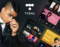 Tidal Music Streaming - UI/UX Redesign