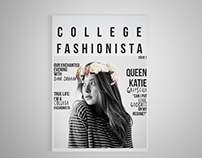College Fashionista Zine