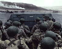 D-Day Invasion, 1944 // Colorization