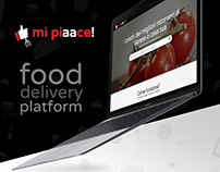 Mi Piaace - food delivery platform