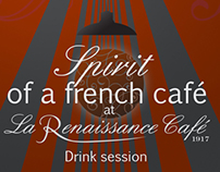 Spirit of a french café - La Renaissance Café